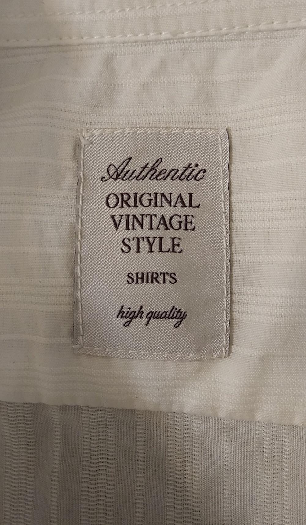 Рубашка AUTHENTIC ORIGINAL VINTAGE STYLE р. М (48-50)