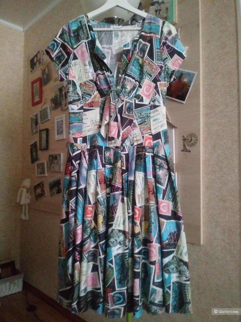 Платье   ALBA MODA,   размер  M - L ( небольшой)