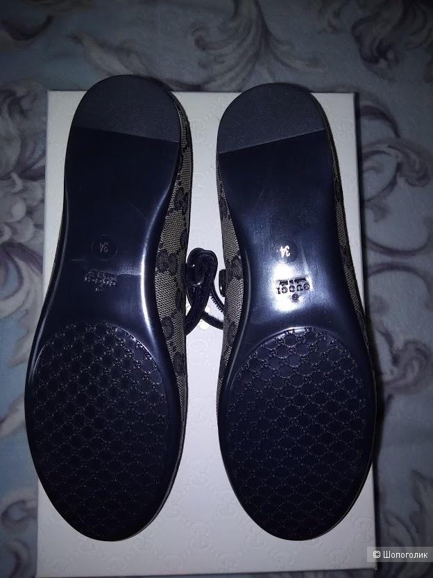 Туфли-балетки GUCCI, размер 34