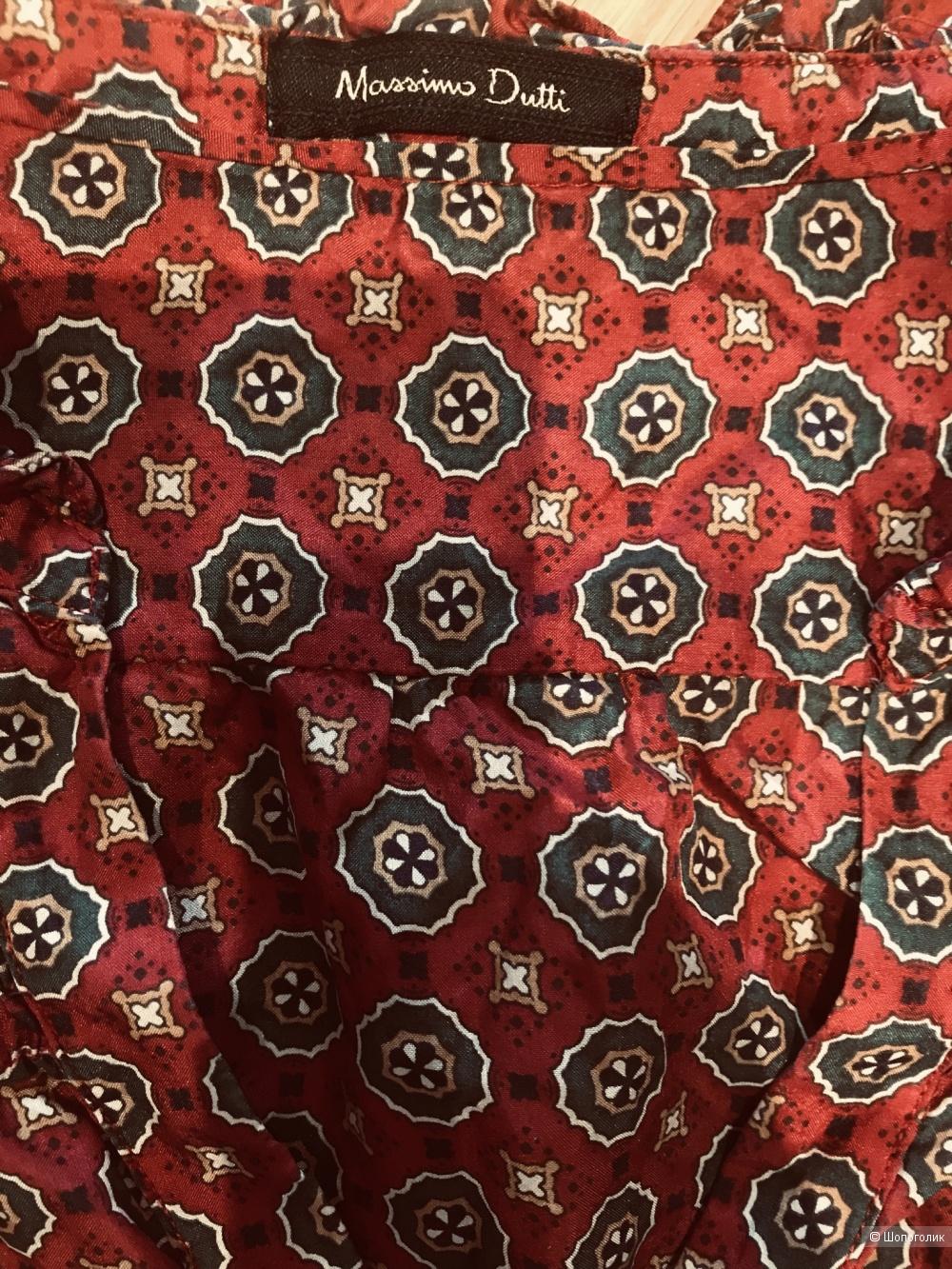Топ блуза шелковый Massimo Dutti 40 (M, 46)