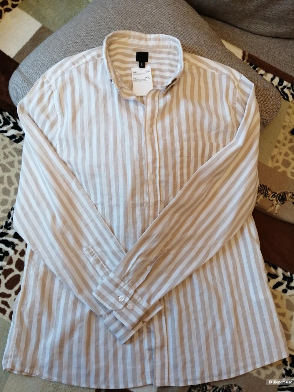 Рубашка H&M размер XL