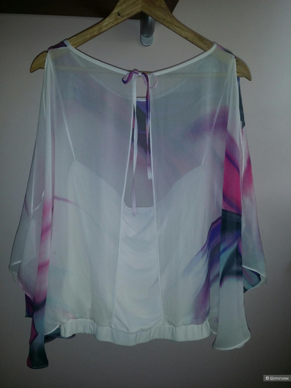 Шелковая блуза Orna Farho, фр.40, наш 46