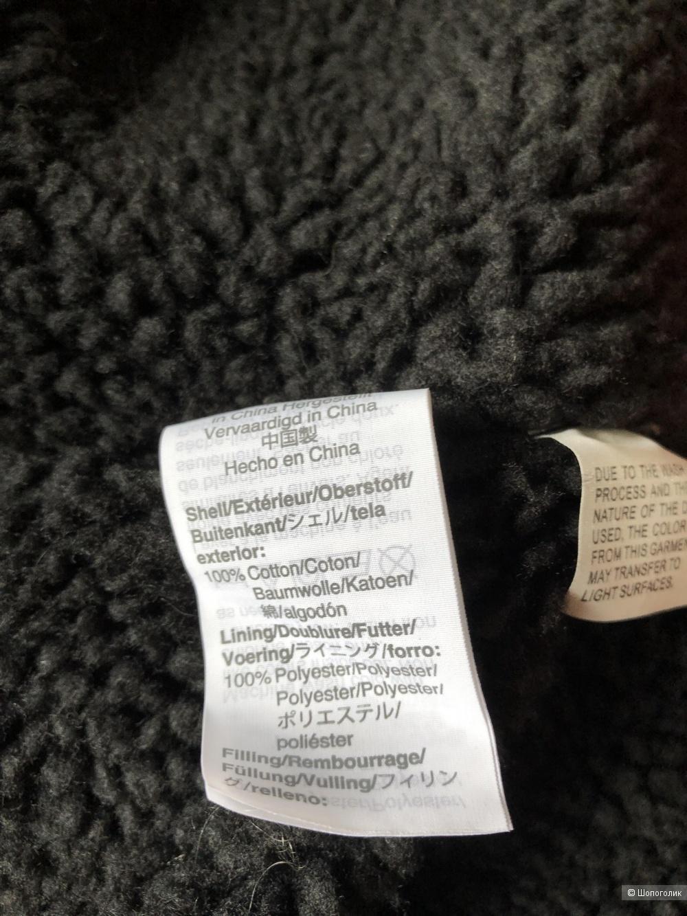 Утепленная джинсовая куртка Madewell, размер L.