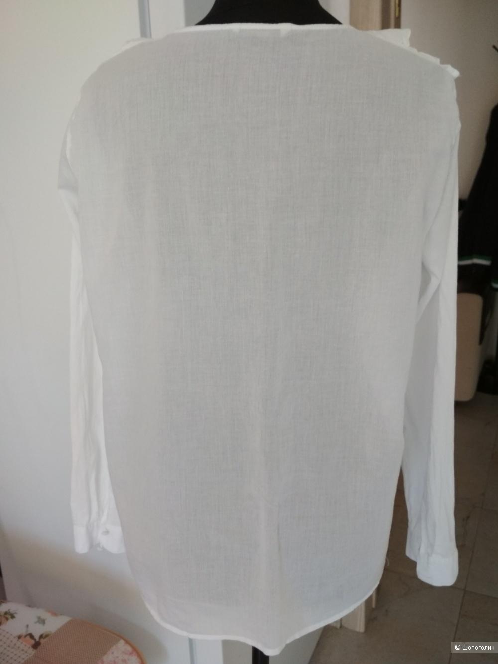 Хлопковая рубашка Only р. 48