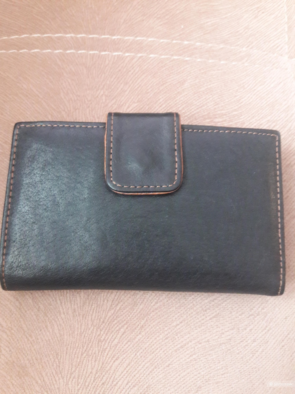 Кожаный кошелек Yuk Fung