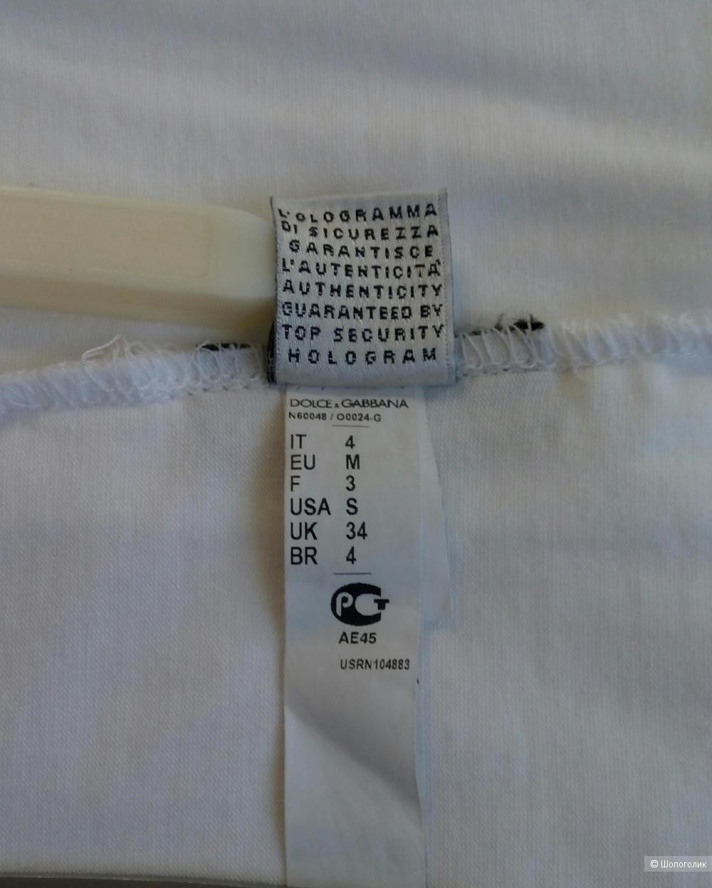 Майка Dolce&Gabbana размер 46-48