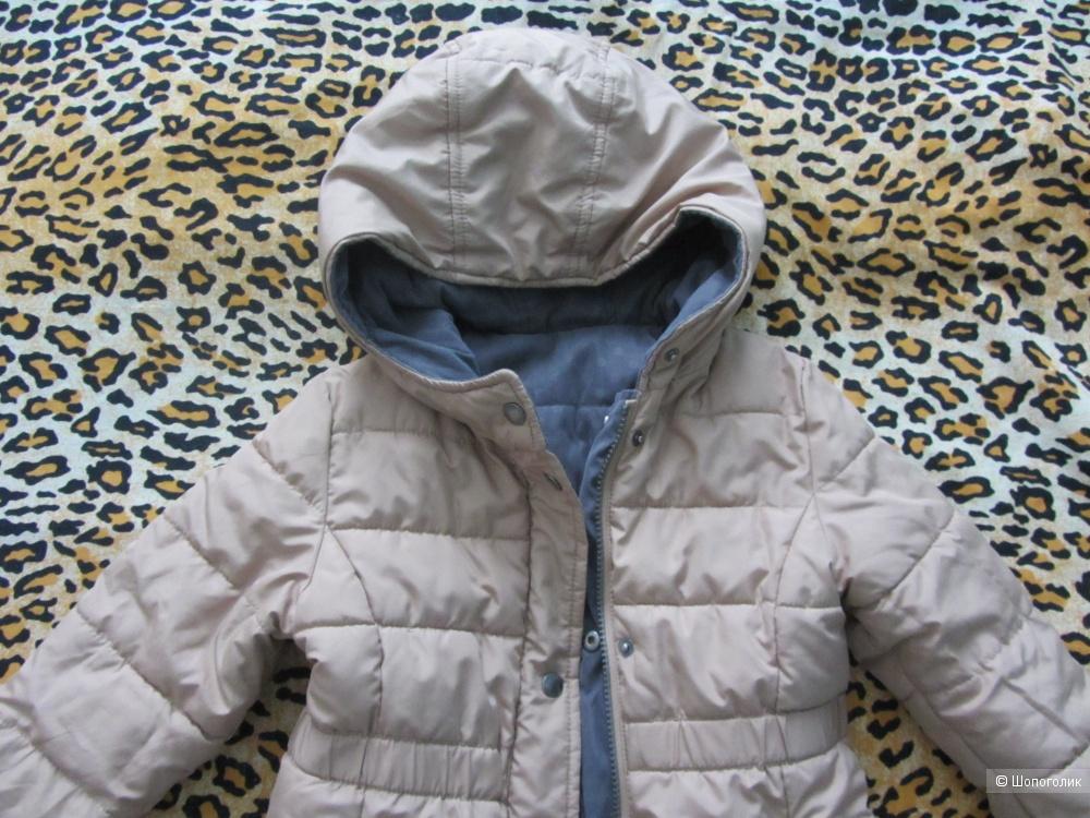 Двухстороннее пальто Verbaudet маркировка 5 лет 108 см