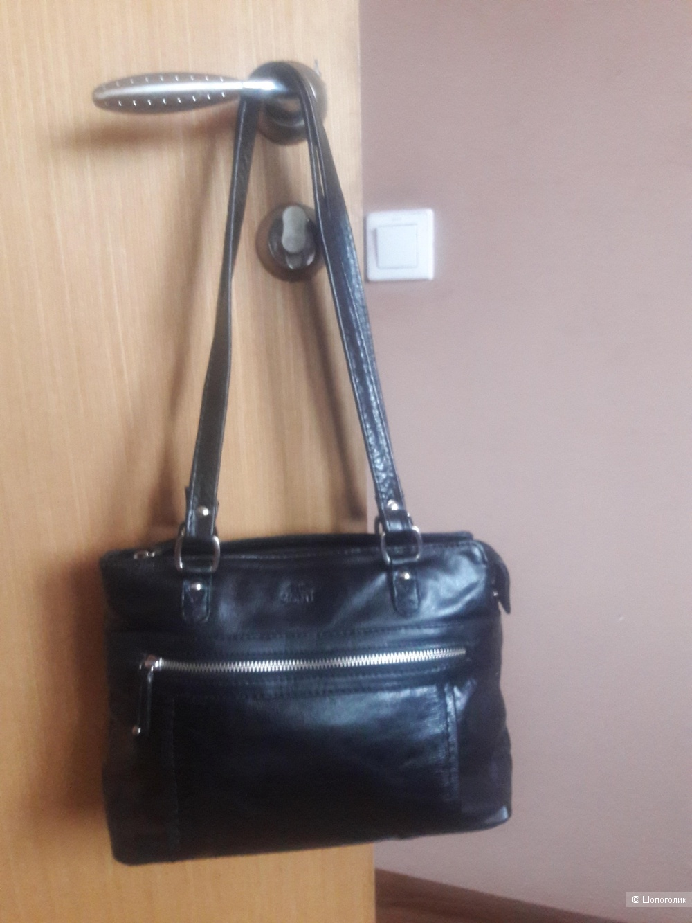 Кожаная сумка  The monte