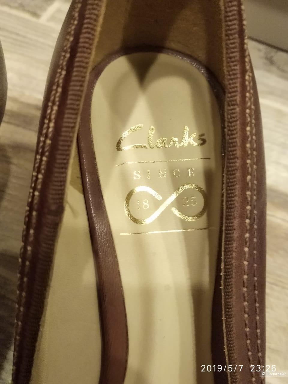 Туфли Clarks, 35 размер