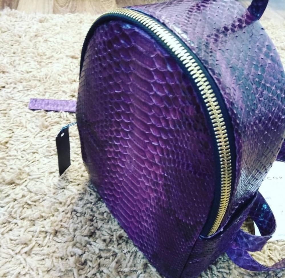Рюкзак из питона Ancora  размер мини