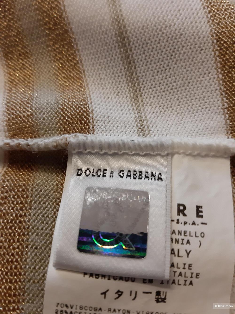 Футболка  Dolce & Gabbana , размер  европейский  34