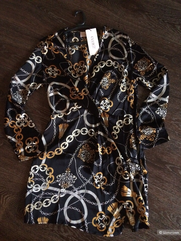 Платье с принтом марки Club L размер 12(46)