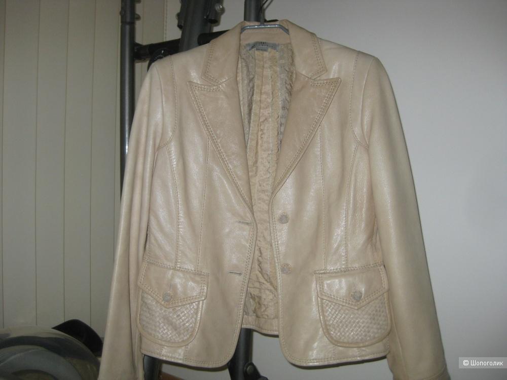 "Пиджак кожаный ""Helenpell"", размер 44-46"