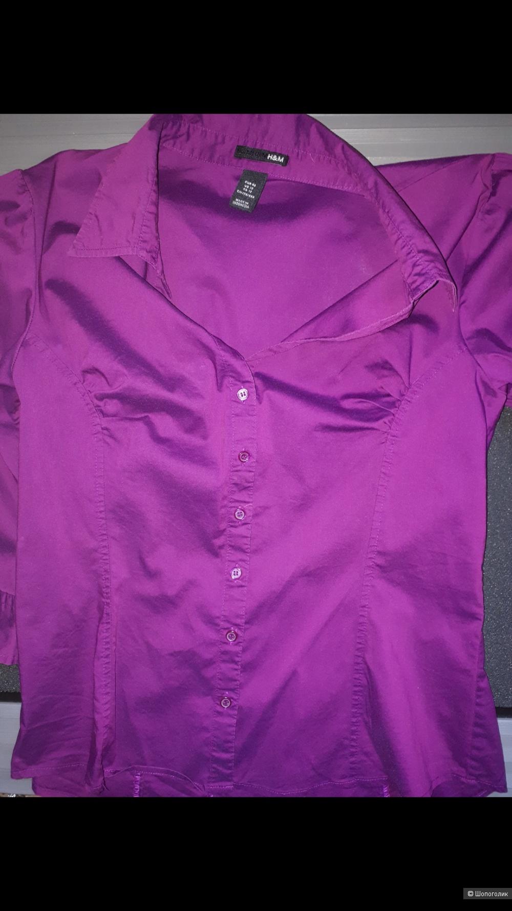 Рубашка H&M 42 евро р-р
