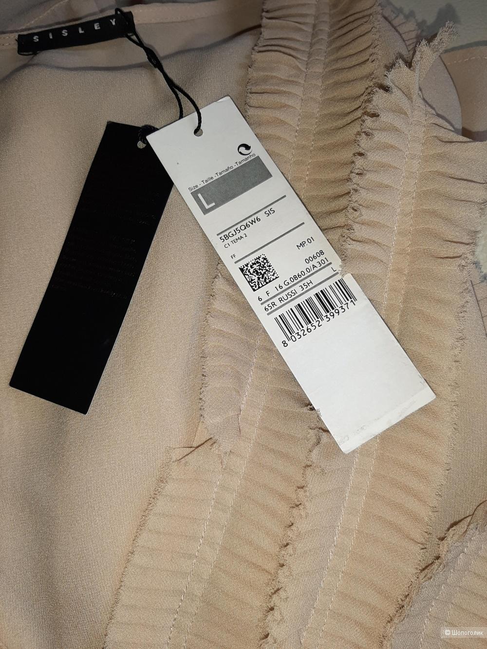 Шелковая блузка Sisley, L