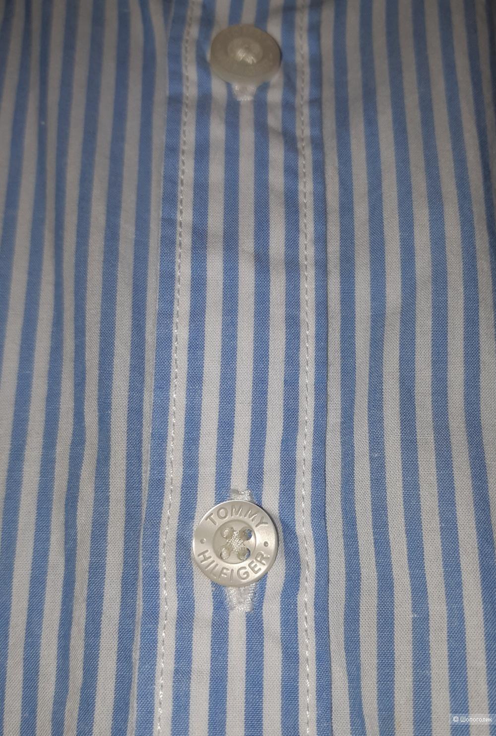 Рубашка для мальчика tommy hilfiger, размер 11/12
