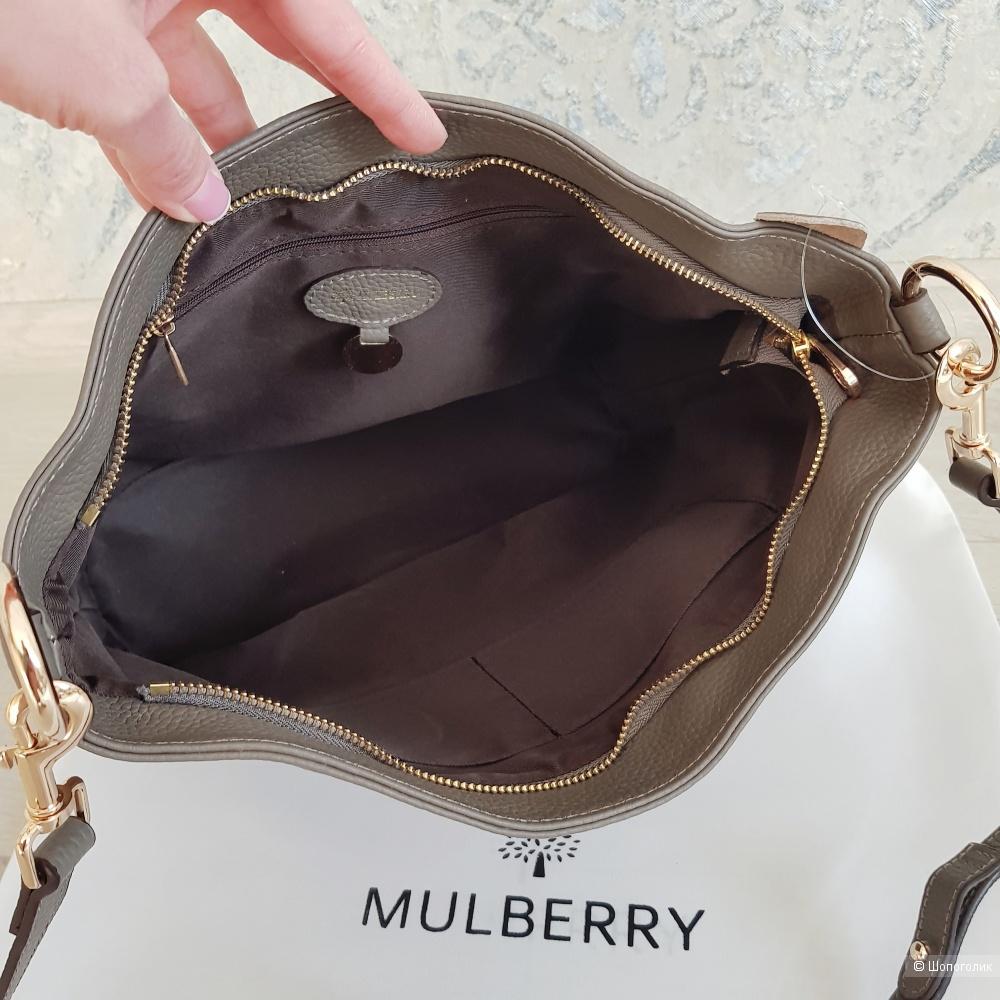 Сумка Mulberry (серая)