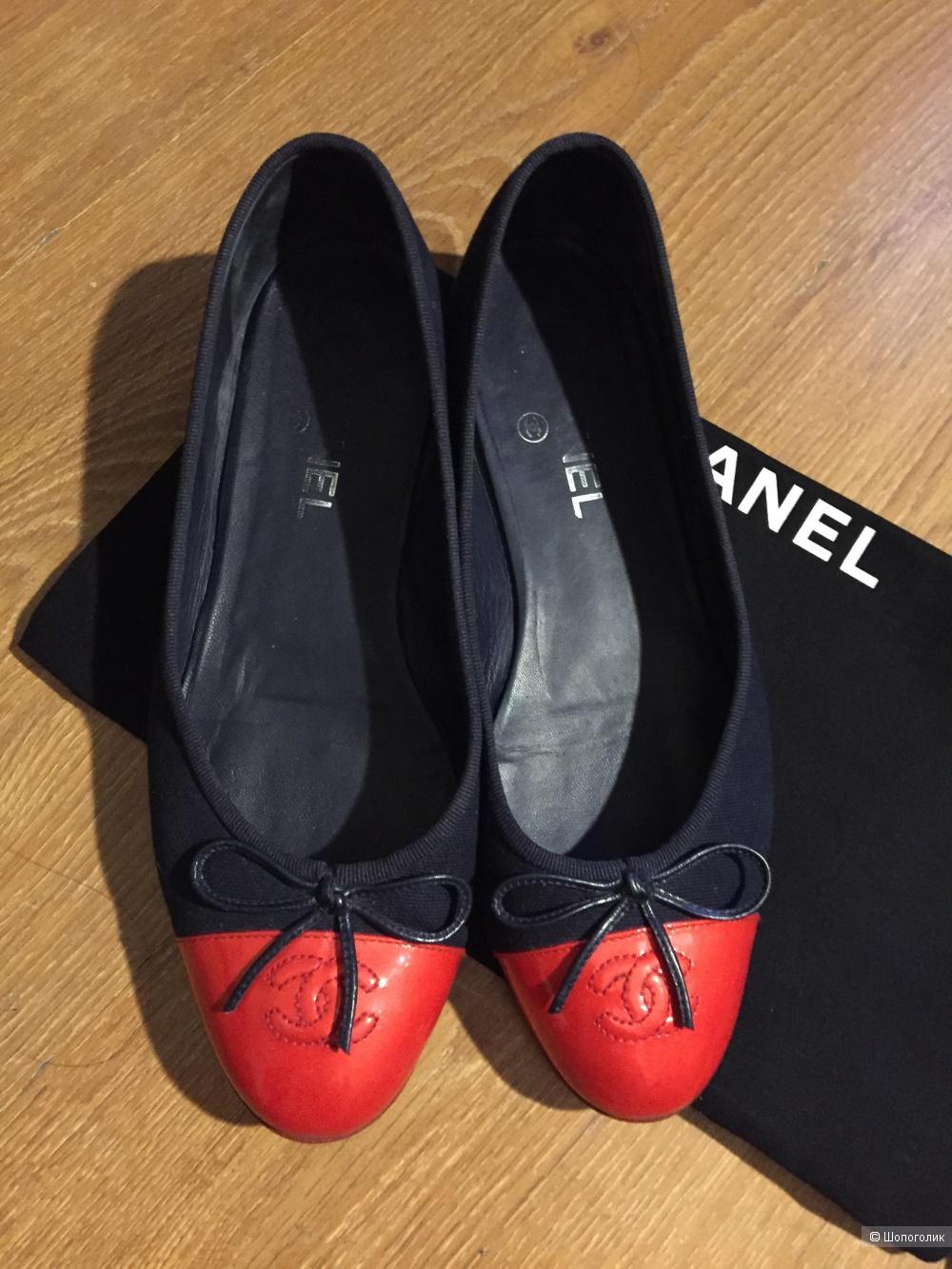 Балетки Chanel 39C