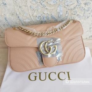 Сумка Gucci GG Marmont (бежевая)