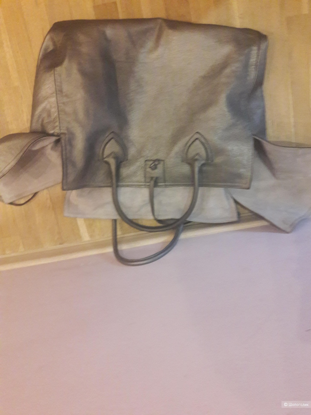 Кожаная сумка Let&her