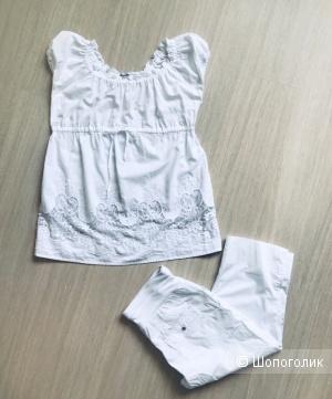 Сет для беременных: блуза и капри Sweet mama 44р.