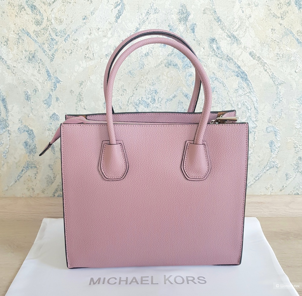 Сумка Michael Kors Mercer (розовая)
