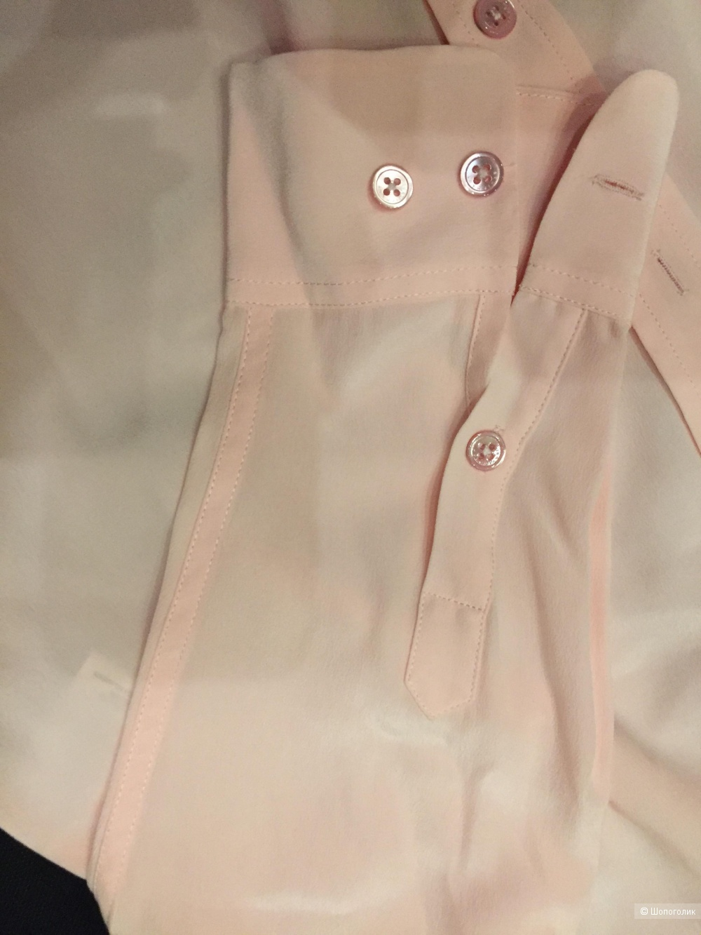 EQUIPMENT Шелковая блузка р.S