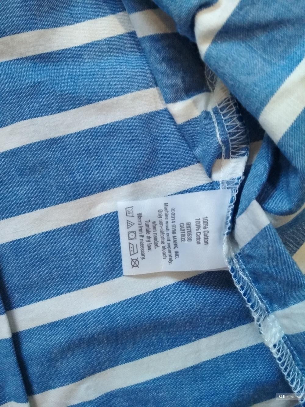 Рубашка gymboree размер 10-12 лет