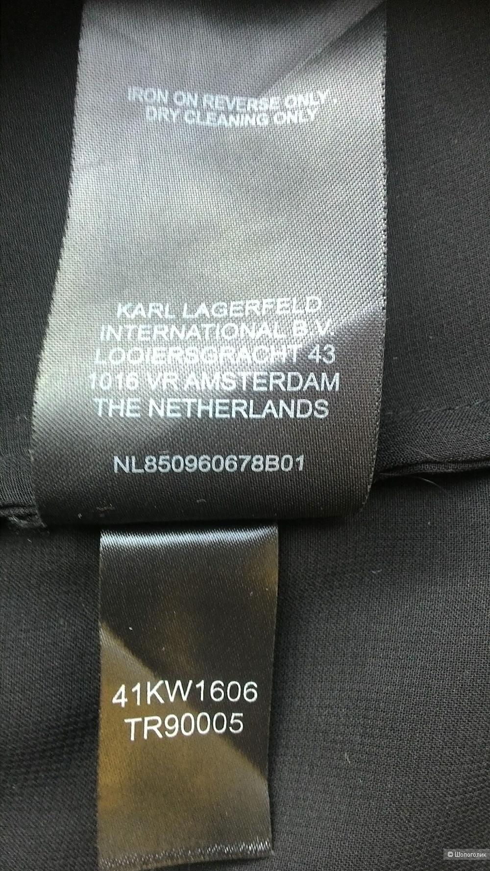 Блузка Karl Lagerfeld for H&M, размер XS