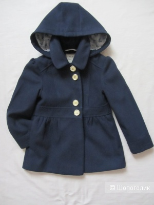 Пальто Next размер 5-6 лет