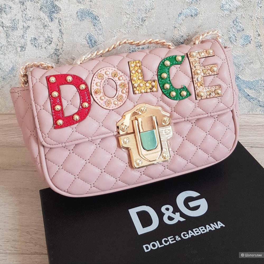 Сумка Dolce & Gabbana (розовая)