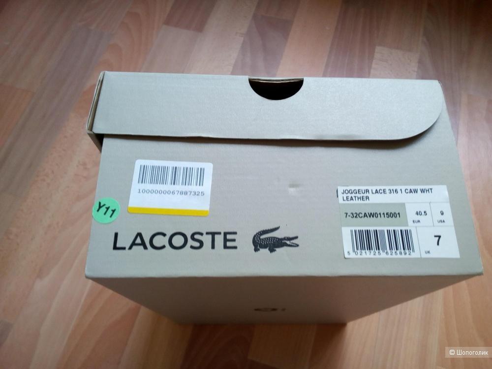 Кроссовки Lacoste, 7 UK,9 USA, 40.5eur