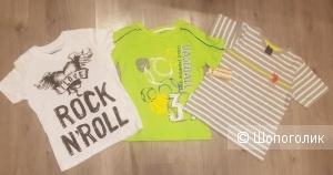 Сет из 3 футболок для мальчика 4-5 лет