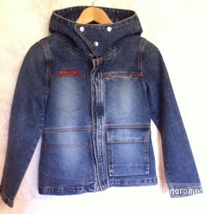 Джинсовая куртка No name, размер XXS, XS