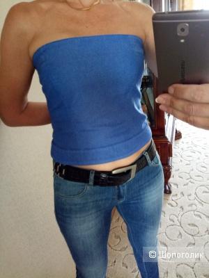 Джинсовый топ Armani jeans, размер 44-46 (рос)