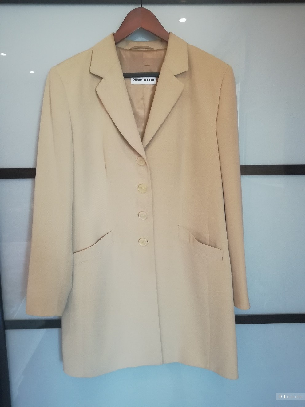 Удлиненный пиджак-плащ Gerry Weber размер 48-50