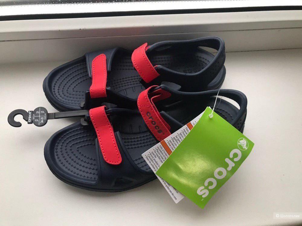Сандалии Crocs, размер 34-35