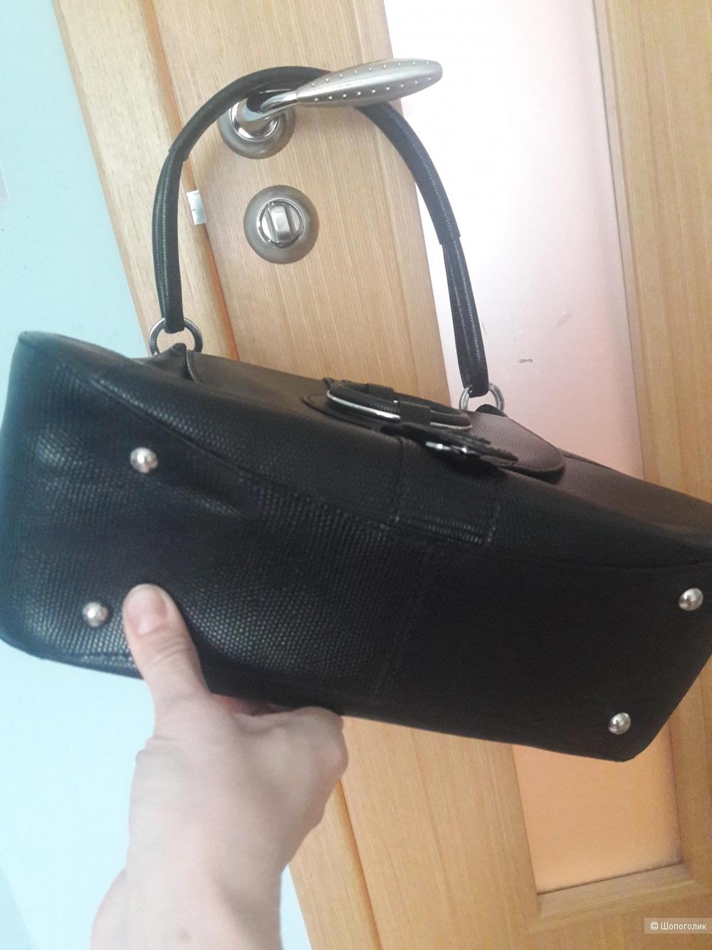 Кожаная сумка Rene Lezard
