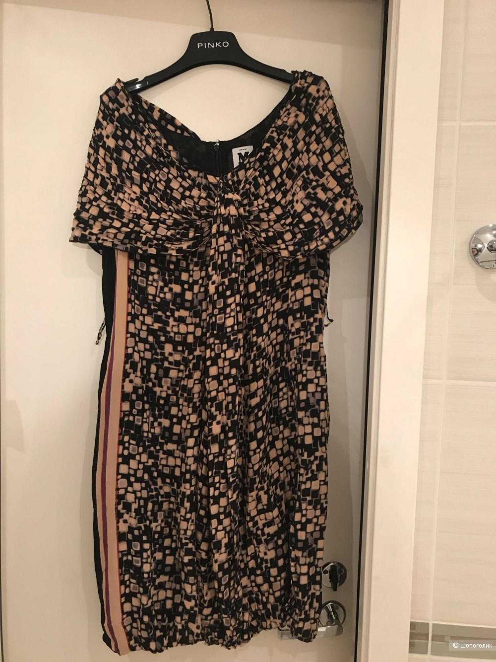 Шелковое платье M Missoni, размер М