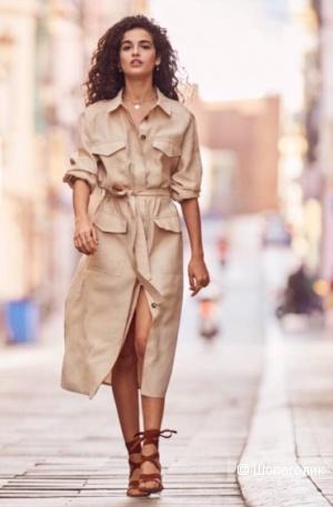Платье-рубашка H&M, размер 44 EU
