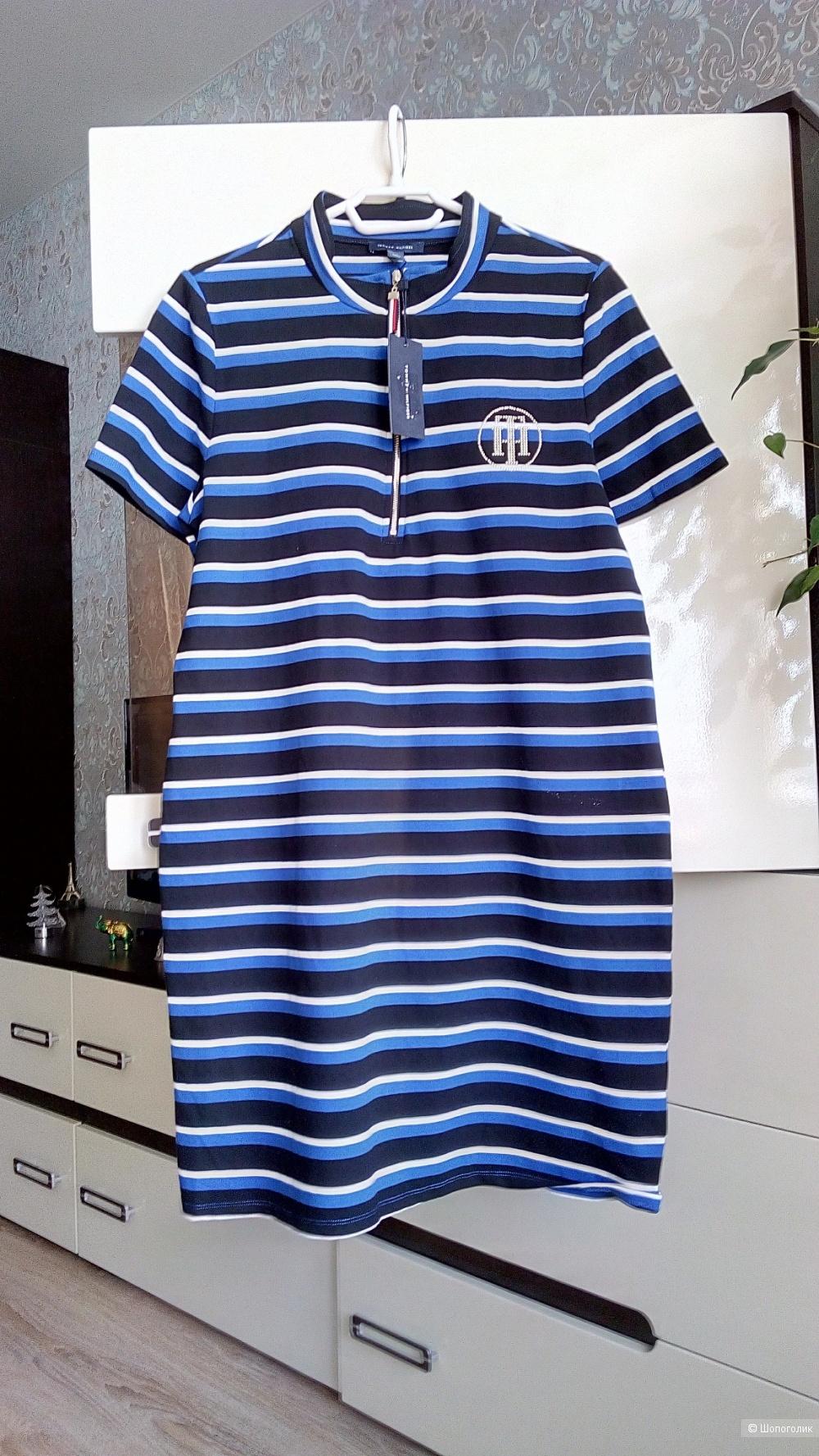 Платье-поло Tommy Hilfiger, размер 48 (+-)