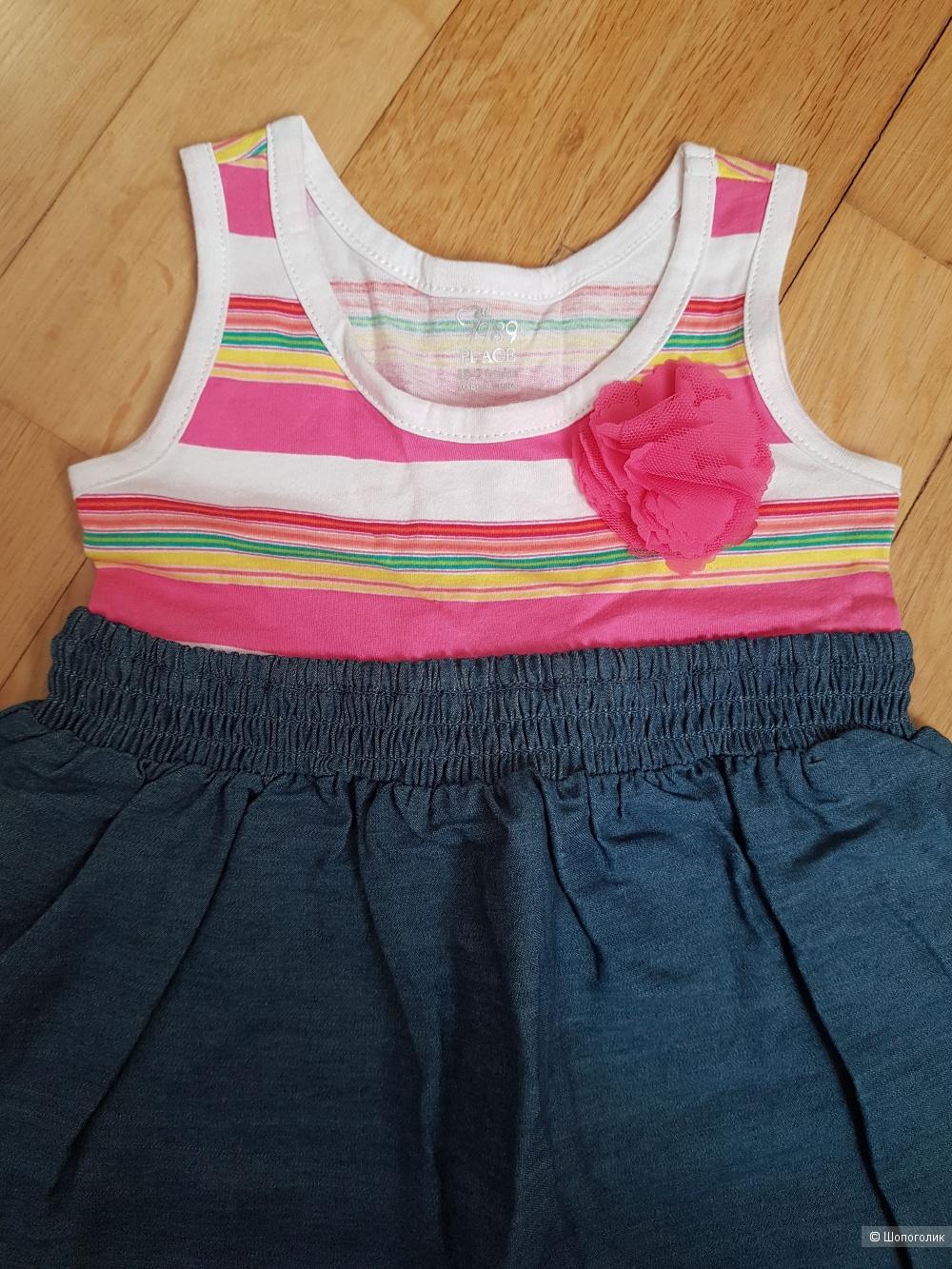 Платье Children's place 18-24 мс