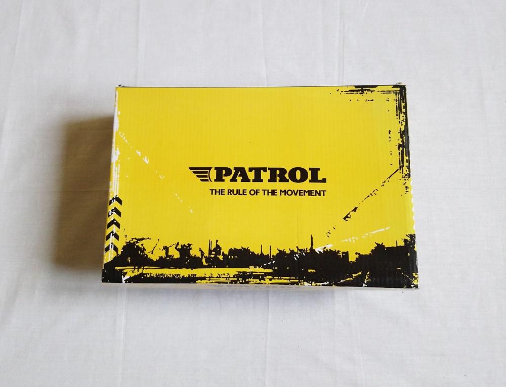 Кеды на платформе Patrol, 39