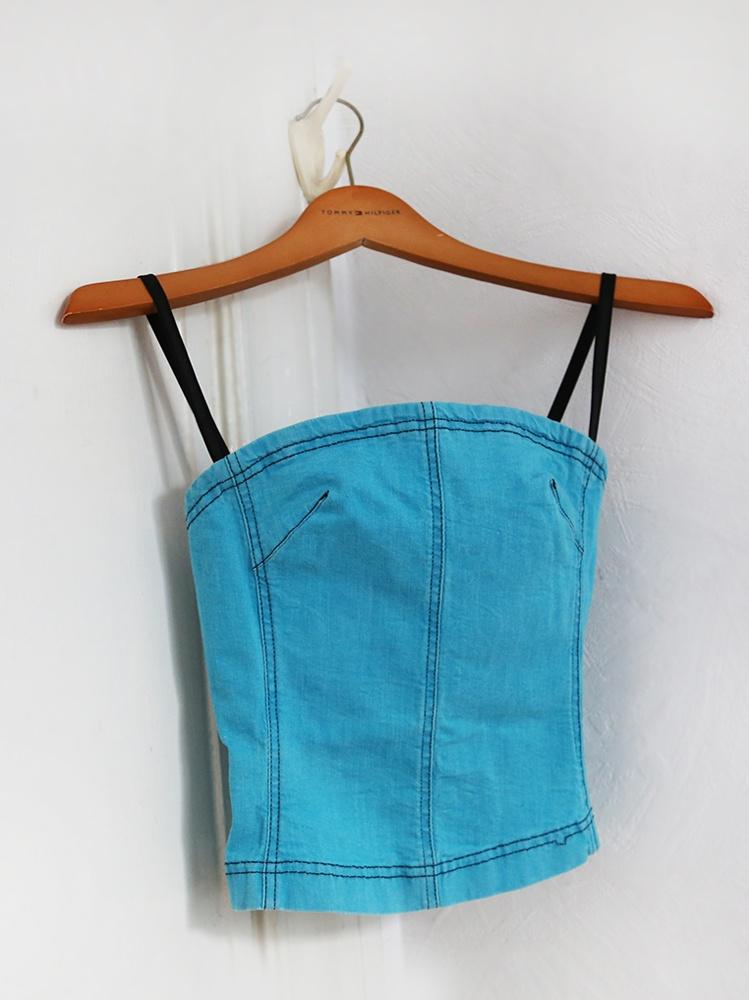 Джинсовый топ Plein Sud Jeans FR38, S, рус.42