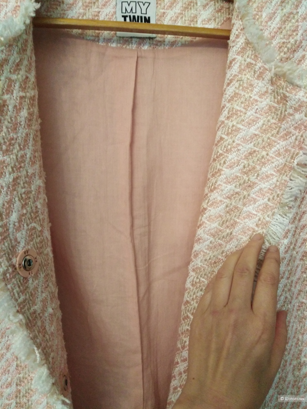 Летнее пальто в стиле Chanel  р-р S