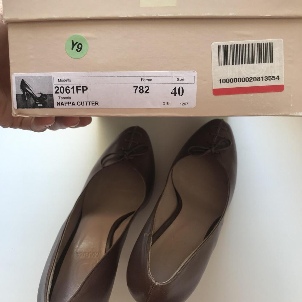 Итальянские туфли D Marra 40 размер