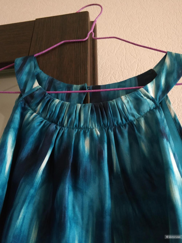 Шёлковое платье Esprit европейский 40, на российский 44-46