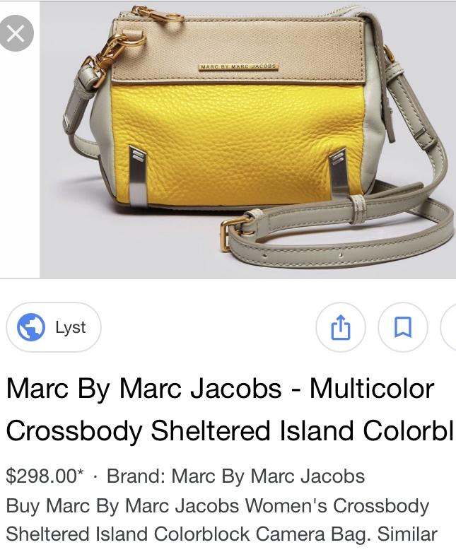 Сумка Кроссбоди Marc by Marc Jacobs