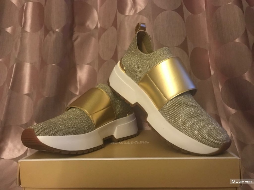 "Слипоны ""Michael Kors"" Cosmo Knit Slip-On Trainer. Размер US 6,5."