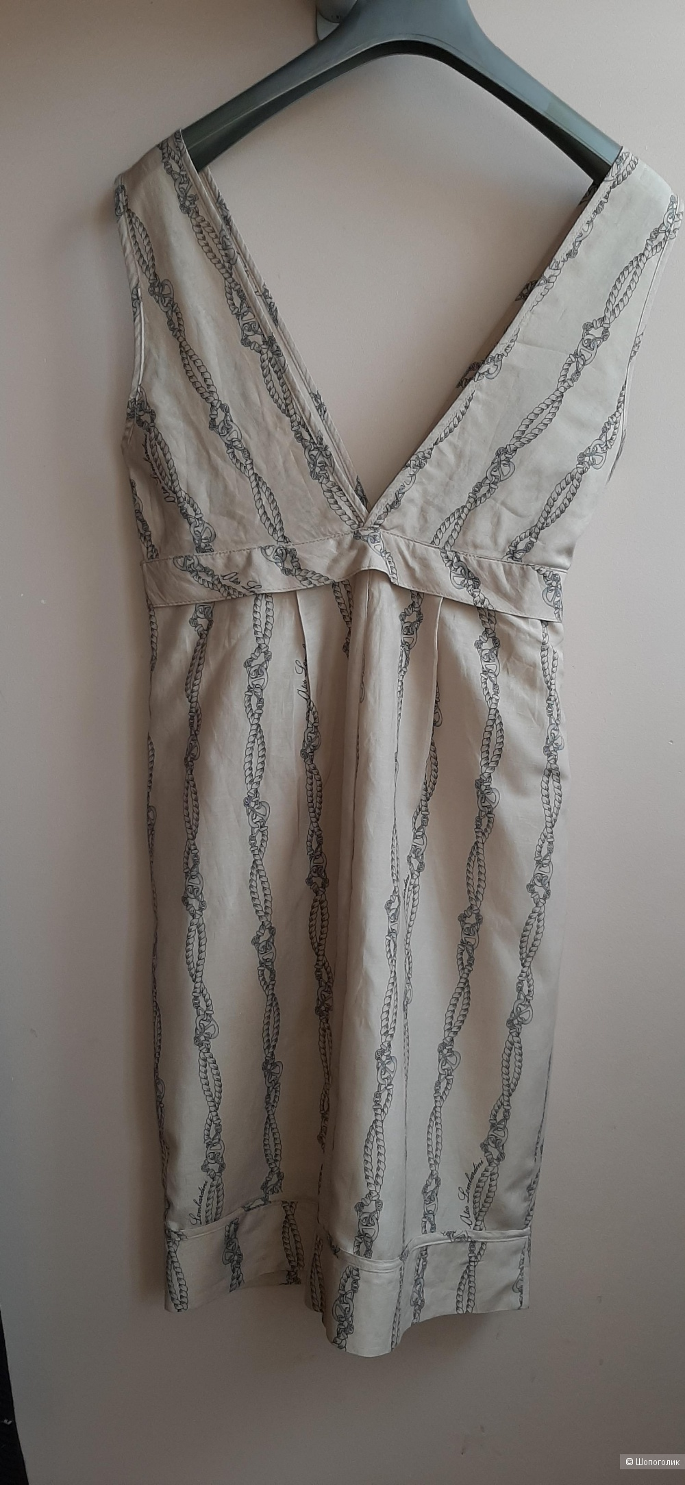 Шелковое платье Atos Lombardini, ит. 40, наш 42